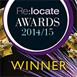 Meilleur prestataire de relocation à l'international 2012/2013 et 2014/2015